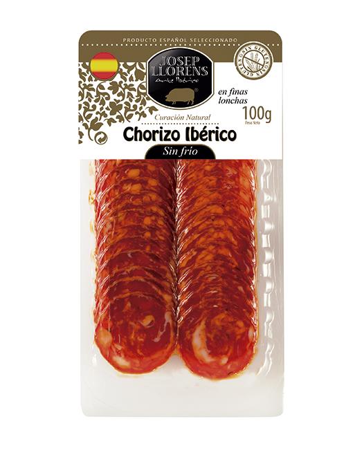 LONCHEADO CHORIZO IBÉRICO SIN FRIO 100gr.