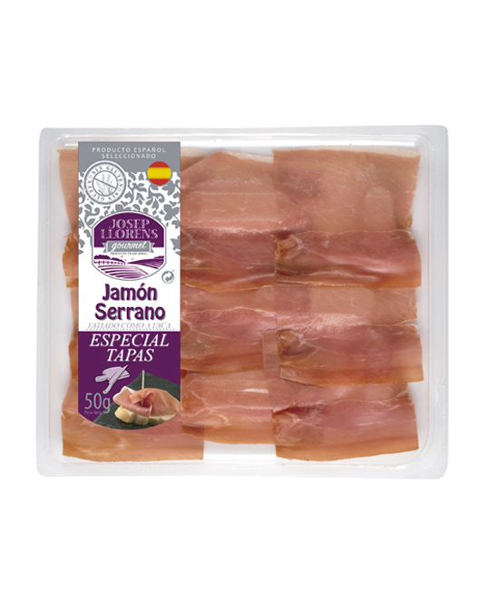 Loncheado Jamón Serrano Tapas 50 gr