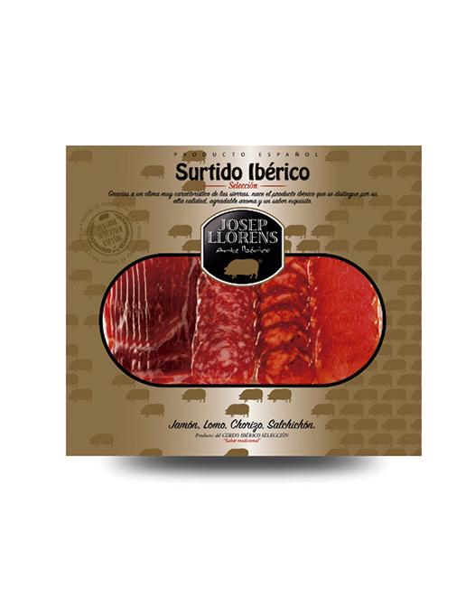 LONCHEADO SURTIDO CEBO IBÉRICO GOURMET 150GR.