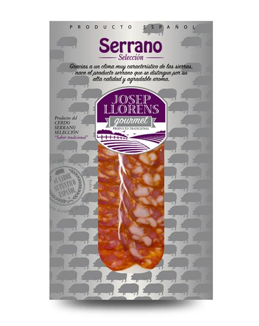 Loncheado Chorizo Serrano Gourmet 100 gr.