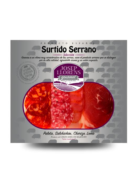 LONCHEADO SURTIDO SERRANO GOURMET 150GR