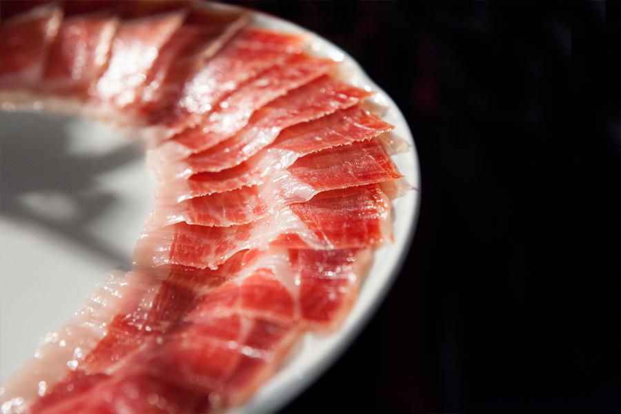 The importance of salt in Josep Llorens Iberian Ham